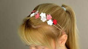hair clasps use a wire and nail to make lovely decorative hair clasps