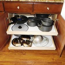 Kitchen Cabinets Slide Out Shelves How To Remove The Center Stile On A Cabinet To Install Wider Pull
