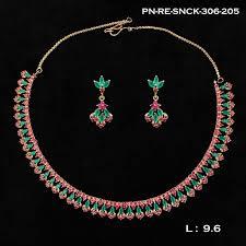 earring necklace ruby images Chandraharam ruby emerald designer necklace set jan23 griiham jpg