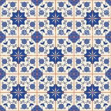 Moroccan Art History by Seamless Pattern Turkish Moroccan Portuguese Tiles Azulejo