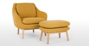 Oslo Armchair Oslo Accent Chair Yolk Yellow Made Com