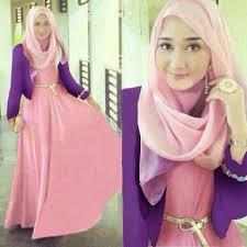 model baju muslim modern model baju gamis modern terbaru 2016