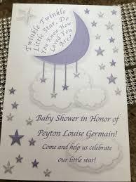 twinkle twinkle little star baby shower invite girlsbabyshower