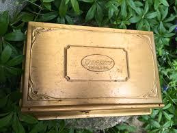Brass Desk Accessories old brass desk accessory perpetual calander brass box vintage