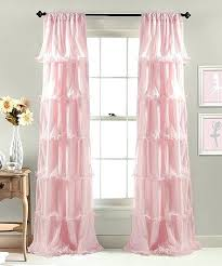 Pale Pink Curtains Pink Nursery Curtains Teawing Co