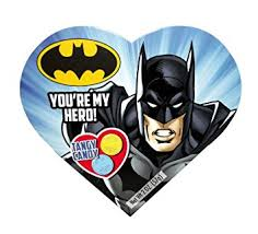 batman valentines dc comics batman heart box with tangy candy