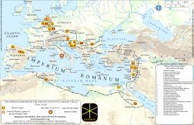 Rome On World Map Rome U2013 Centres And Centralities