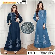 Baju Atasan Rok Levis baju gamis bahan g09219 modis edisi oktober 2016 places to