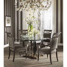60 dining room table furniture design belvedere 60 inch round glass top dining table ff