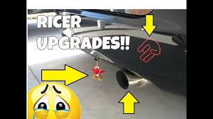 dont do this to your car top 5 most popular ricer mods youtube