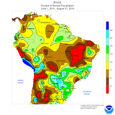 United States Climate Map by South America Drought Robertscribbler