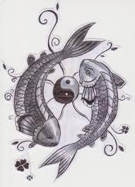 yin yang koi fish by aylagigacz on deviantart