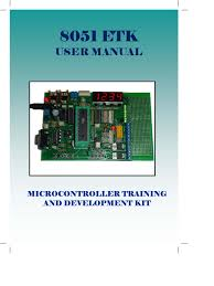user manual 8051 training kit analog to digital converter