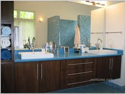 Blue And Brown Bathroom by Best Bathroom Colors With Modern Decor Zeevolve Idolza
