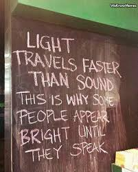 what travels faster light or sound images Light travels faster than sound weknowmemes jpg