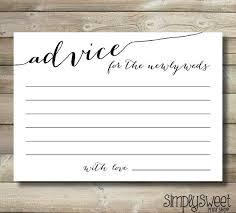 advice for cards marriage advice cards templates best 25 wedding advice cards ideas
