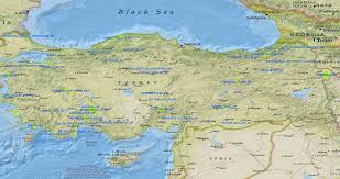 Turkey World Map Map Of National Parks In Turkey