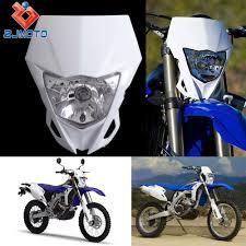 yamaha motocross helmet aliexpress com buy universal motorcycle headlights supermoto