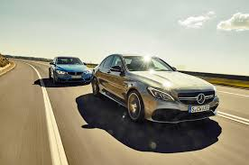 personality clash 2015 mercedes amg c63 vs 2015 bmw m3