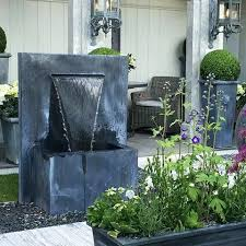 large outdoor wall features large garden wall water feature cheap