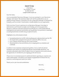 advertising operations manager cover letter free planner template