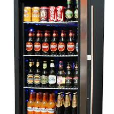 beer refrigerator glass door upright glass door bar fridge with quiet operation