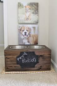 Make Your Own Dog Toy Box by Best 25 Raised Dog Bowls Ideas On Pinterest Dog Bowls Raised