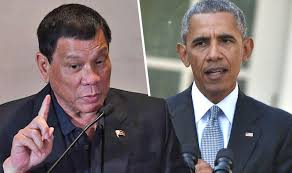 Obama Has Vowed To Cut Philippines President Duterte Vows To Cut Ties With Barack Obama And