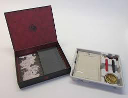 stationery set of thrones house targaryen deluxe stationery set book by