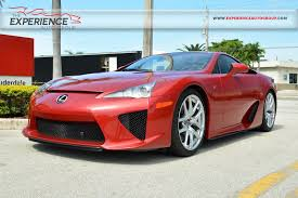 lexus lfa new price used 2012 lexus lfa for sale fort lauderdale fl