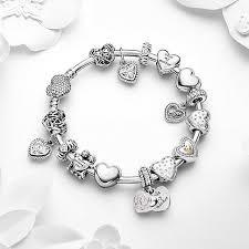bangle charm bracelet pandora images 50 off 359 pandora bangle charm bracelet pink hot sale jpg