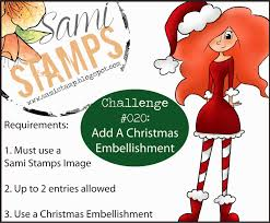 sami stamps gift certificate drawing winner and challenge 20