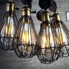 industrial cage light bulb cover wire cage l guards pendant lights inspiring cage pendant light