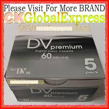 dv cassette 5 pcs pour premium mini dv cassette bande haute qualit礬 num礬rique