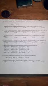Multiple Choice Questions For Fashion Chemistry Archive February 19 2013 Chegg Com