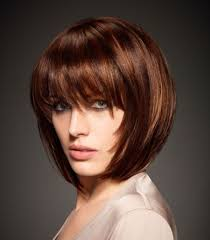 Bob Frisuren Mit Pony Gestuft by Bob Frisuren Mit Pony Kurz Frisure Mode