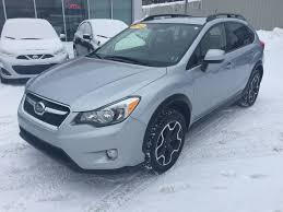 blue subaru crosstrek used 2014 subaru xv crosstrek 2 0i w sport pkg in kentville used