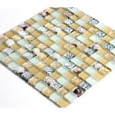 shell tile backsplash wholesale mosaic tile crystal glass shell tile backsplash crackle