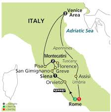 Assisi Italy Map by The Splendors Of Italy Homeschool Tour 2016 Trips Inc