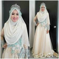 wedding dress syari wedding dress syari 10 dress pengantin muslimah