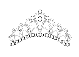 Crown Coloring Pages Coloring Pages Princess Crown Coloring Page Free Coloring Sheets