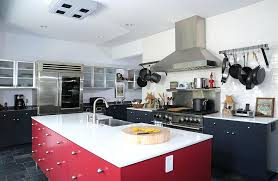red and blue kitchen ideas home design ideas and pictures
