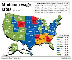 2012 Presidential Election Map Newhairstylesformen2014 Com by Reframing The Minimum Wage Twin Cities Daily Planet