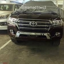 2016 land cruiser lifted 2016 toyota land cruiser pics leaked edit launched in india at