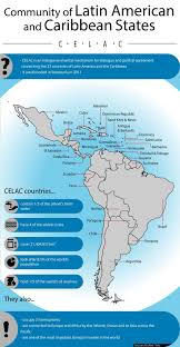 United States And Caribbean Map by Celac In Ecuador In Depth Telesur English