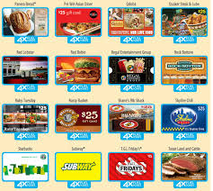 food gift cards earn 4x fuel points on restaurant gift cards at kroger i