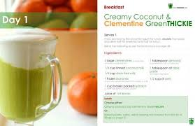 green smoothie 7 day detox diet plan lose weight and feel better