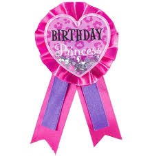 birthday ribbon birthday princess award ribbon sweet 16 party supplies