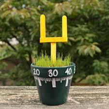 Garden Crafts For Children - football field garden craft for kids football field craft and