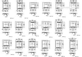 lifts elevators dwg models free download